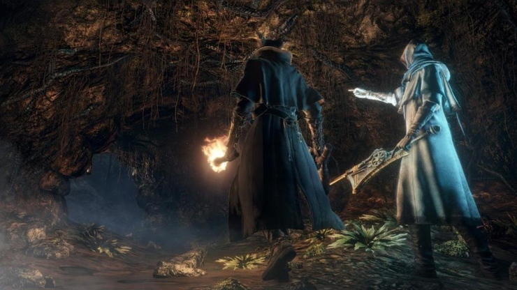 Bloodborne game for PS4 gameplay