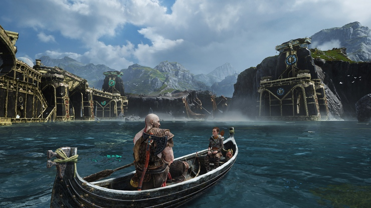 God of War game for PS4 gameplay