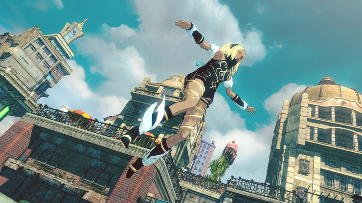 Gravity Rush 2 game for PS4 gameplay