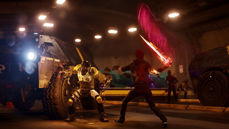 InFAMOUS Second Son game for PS4 gameplay