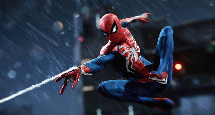 Marvel's Spider-Man game for PS4 gameplay
